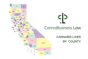Local commercial medical cannabis regulations by county
